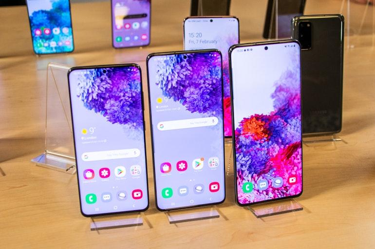 Galaxy S20 versions