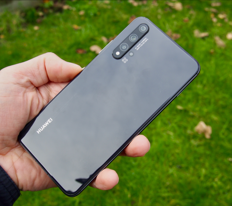 Huawei nova 5T back 2