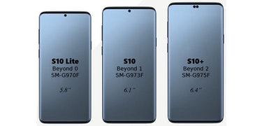 Will Samsung surprise us with the Galaxy S10+ design?