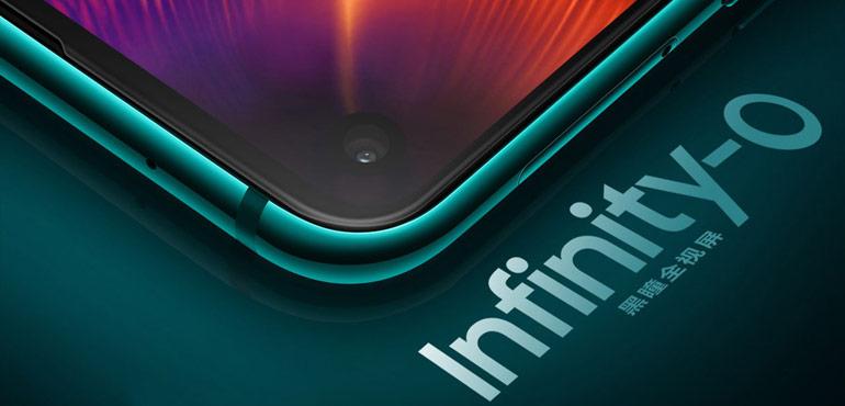 Samsung Galaxy A8s hints at S10 design