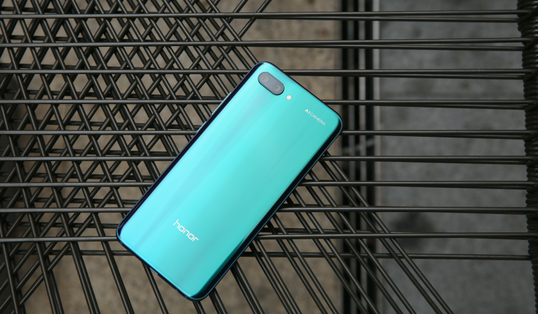 Honor 10 phantom green