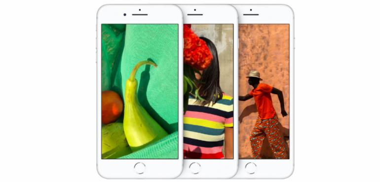 three iphone 8
