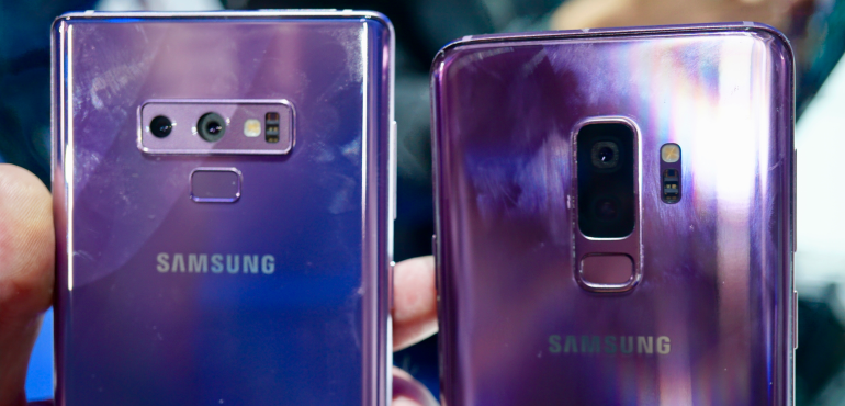 Samsung Galaxy Note 9 and S9: What's the difference?