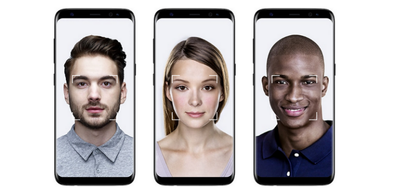 Samsung Galaxy S8 facial recognition hero