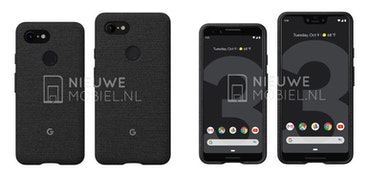 Google Pixel 3 and Pixel 3 XL appear in leaked press images