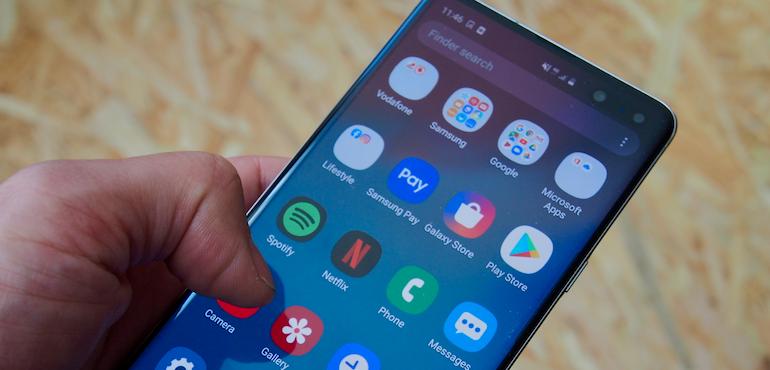 Samsung Galaxy S10 5G Apps