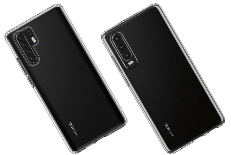 Huawei P30 leak with case