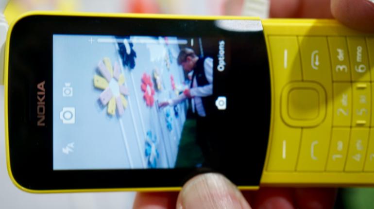Nokia 8110 camera