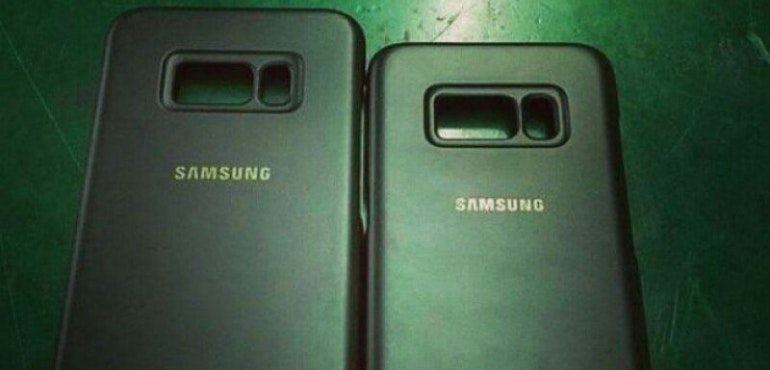 leaked Galaxy S8 cases