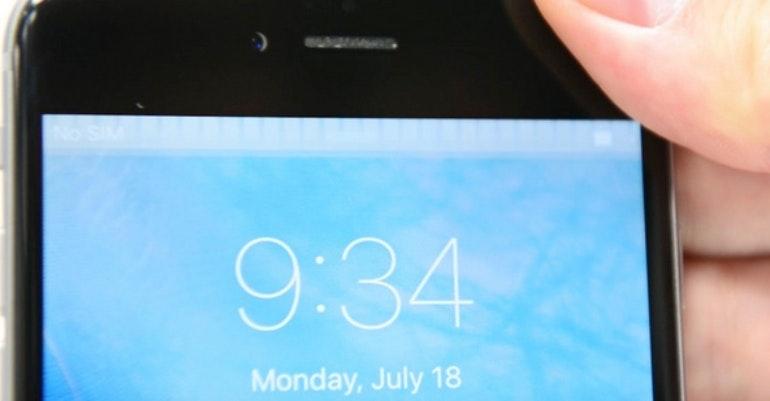 iphone grey bar of death