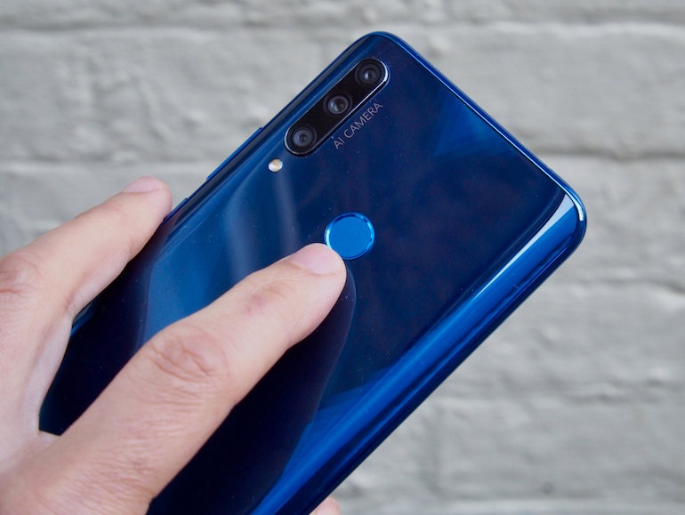 Honor 9X fingerprint