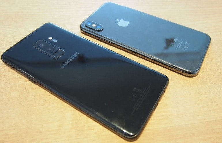 iPhone X and S9 Plus backs