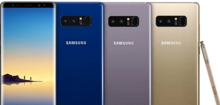 Samsung Galaxy Note 8 colours hero
