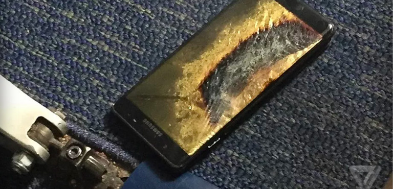 Exploding Samsung Galaxy Note 7 causes plane to be evacuated