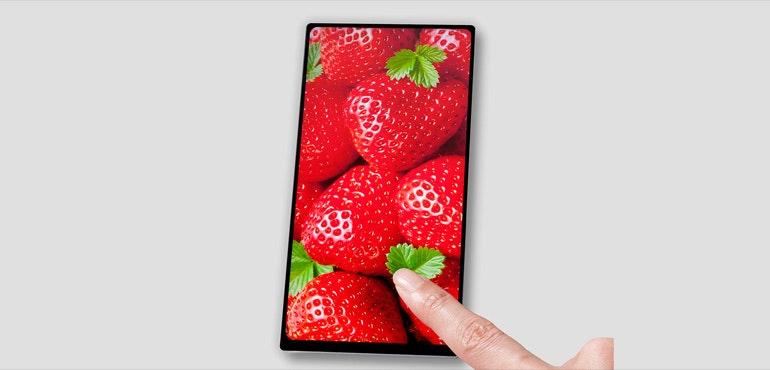 JDI bezel-free screen