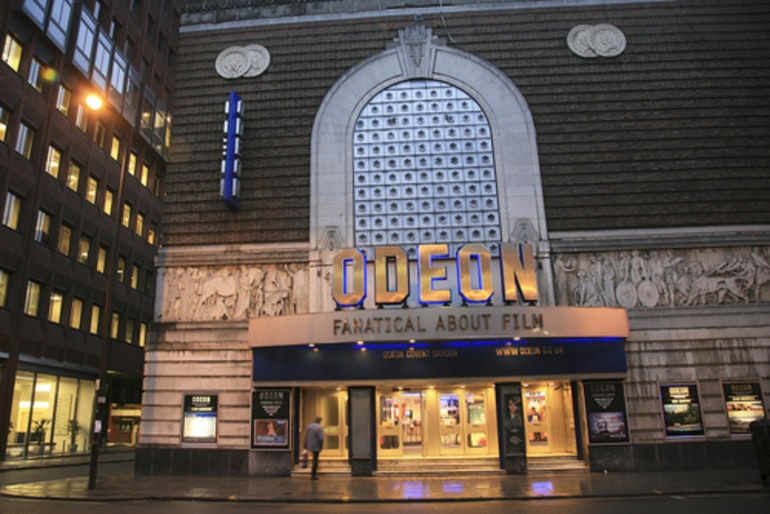 Odeon Cinema VeryMe Vodafone