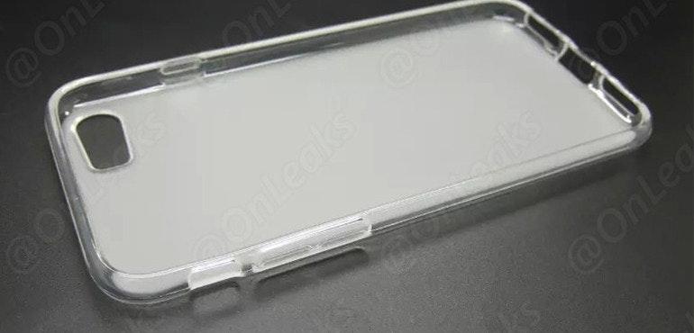 iPhone 7 case leak @onleaks