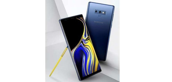 Official Samsung Galaxy Note 9 images leak