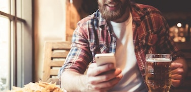 UK pubs reopen with ordering apps