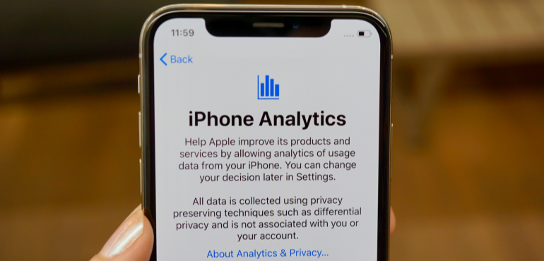 iPhone XS iPhone analytics