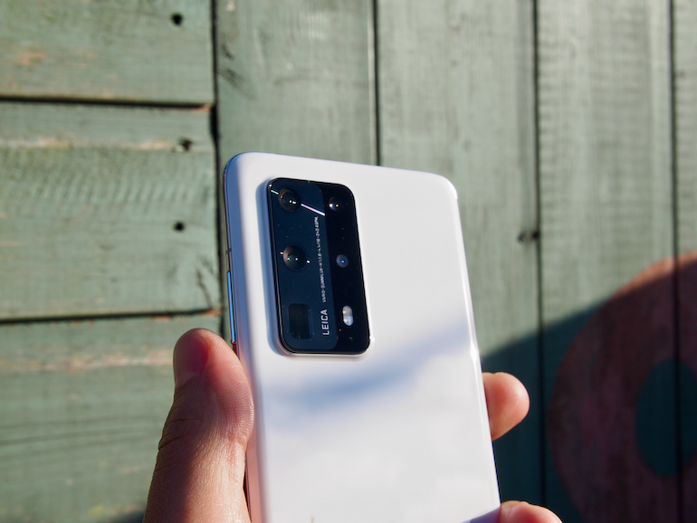 Huawei P40Pro+ lens