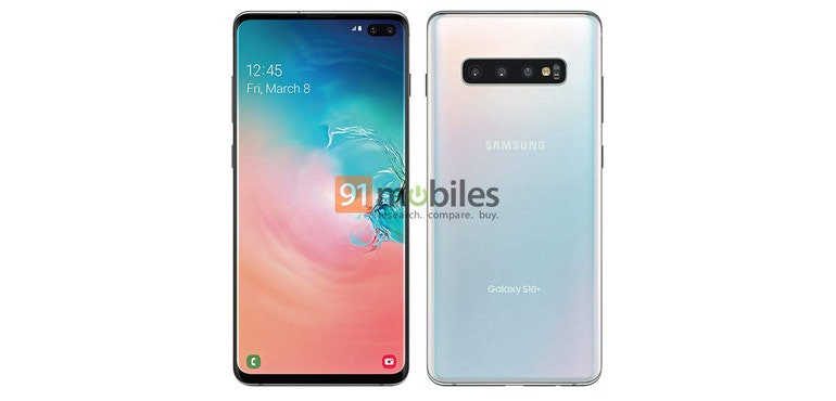 Samsung Galaxy S10+ official leak