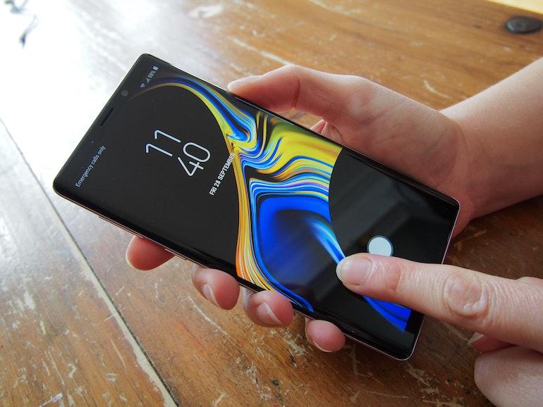 Samsung Galaxy Note 9 camera icon