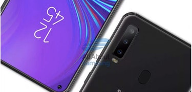 Samsung Galaxy A8s: Infinity O screen, four cameras