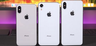 2018 iPhones appear in new video