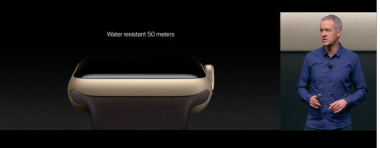 Apple Watch Series 2 water