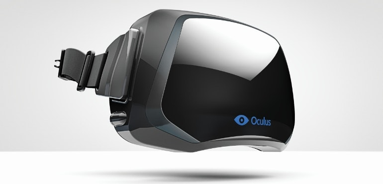 Oculus Rift VR headset virtual reality