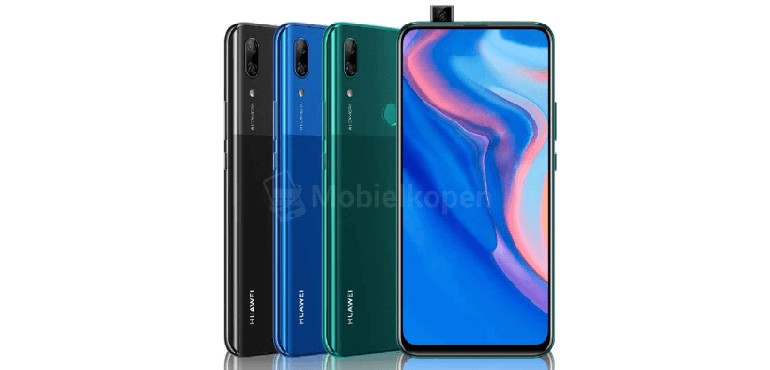 Huawei pop–up camera phone leaked
