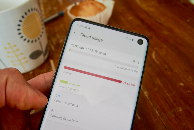 Galaxy S10 - Tips - Cloud Usage