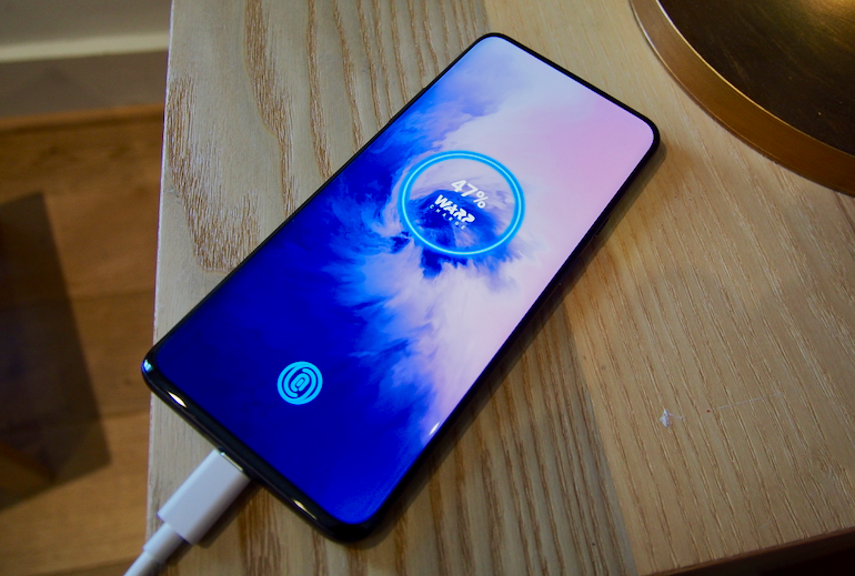 OnePlus 7 Pro charging