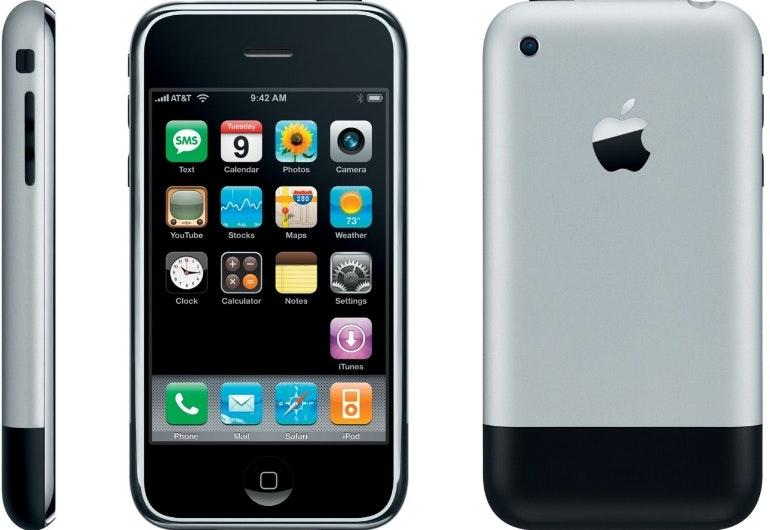 first iphone birthday