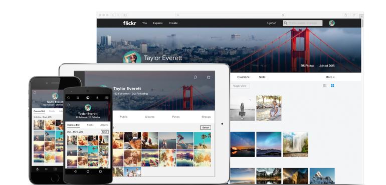 flickr photo storage