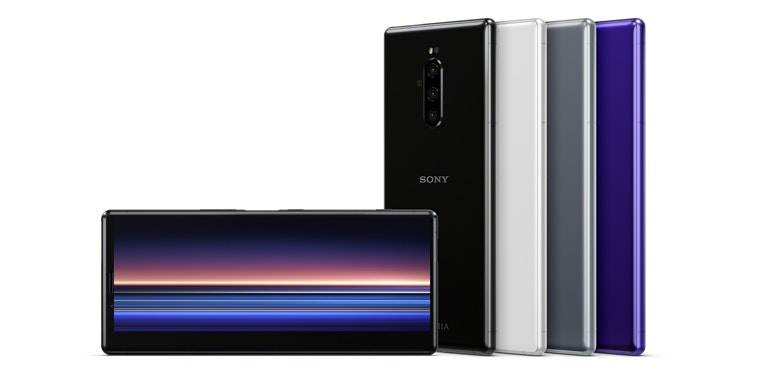 Sony Xperia 1 stands tall thanks to its towering screen
