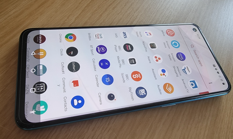 OnePlus Nord CE app tray