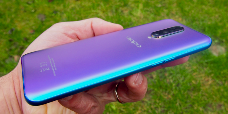 Oppo RX17 Pro side buttons