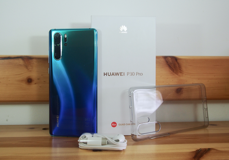 Huawei P30 Pro with box