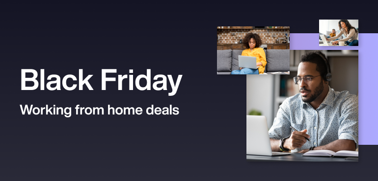 Black Friday working from home deals hero image