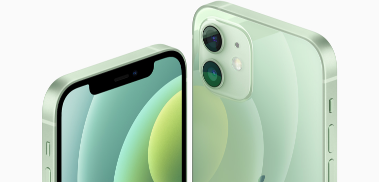 iPhone 12 hero image green