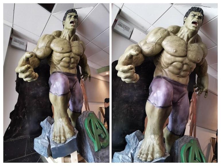 Honor 20 Pro samples the hulk