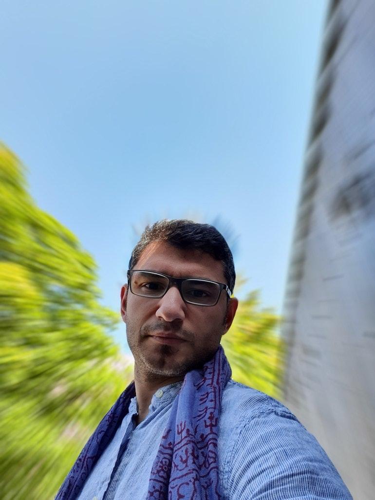 S10 5G selfie sample 2