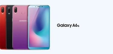 The Galaxy A6s is the first Samsung phone not made by Samsung