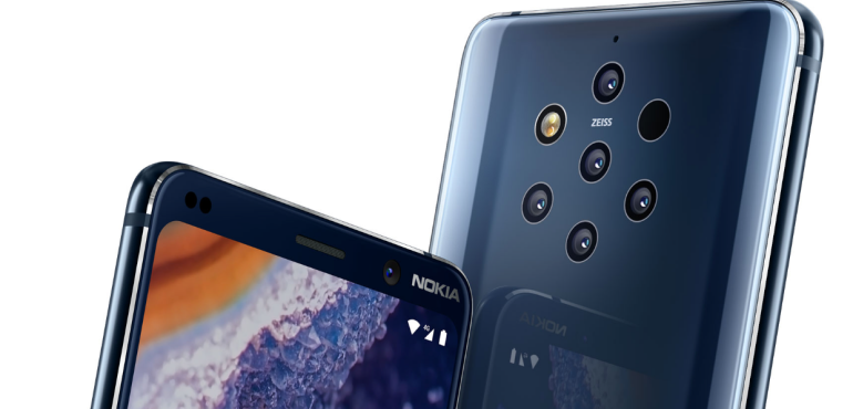 Nokia 9 PureView detail