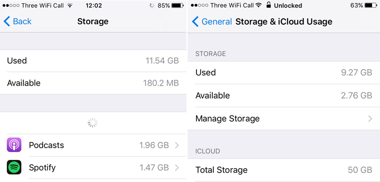Apple's latest iOS 10 update gives users extra storage space