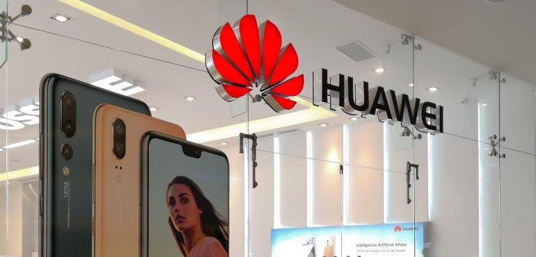 Huawei shop front hero image