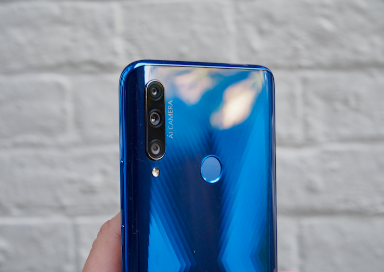 Honor 9X camera lenses