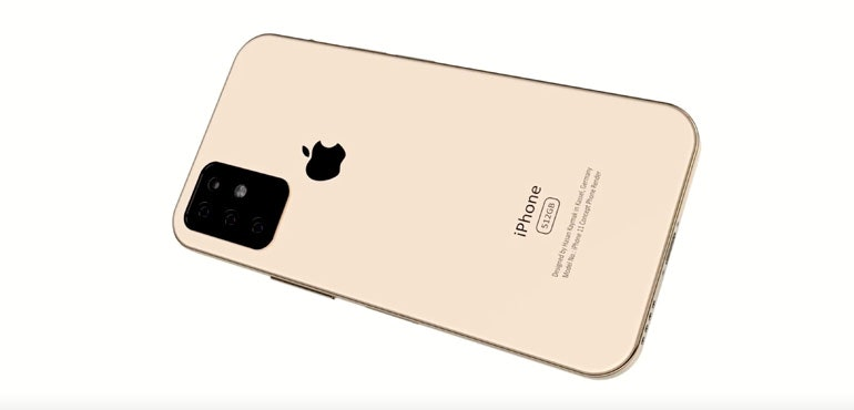iPhone 11 concept video shows a design inspired by the iPad Pro